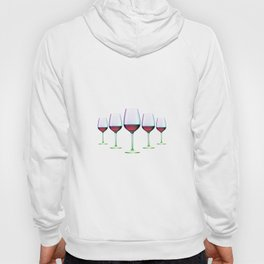 Cheers Red Wine Hoody