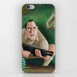 Clever Girl iPhone Skin