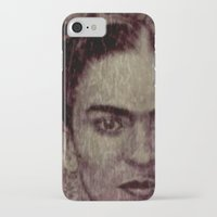 frida kahlo iPhone & iPod Cases featuring Frida Kahlo by ARTito