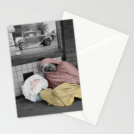 Sleeping Mexican Woman Stationery Cards