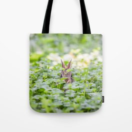Itty Bitty Baby Bunny Tote Bag