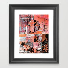 Remix Framed Art Print