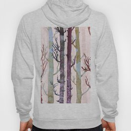 Color forest trees Hoody