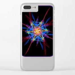 Silkweave / Neon Sigil 2 Clear iPhone Case