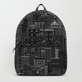 City Doodle (night) Backpack