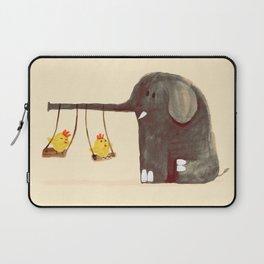 Elephant Swing Laptop Sleeve