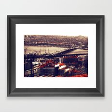 Galata Framed Art Print