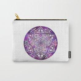 Zen Purple Mandala Carry-All Pouch