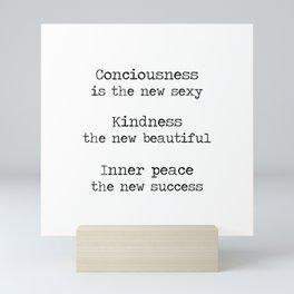 Redefining sexy, beautiful, successful. Mini Art Print