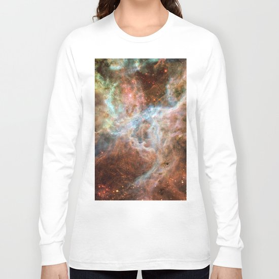 The Galaxy Above with Stars Long Sleeve T-shirt