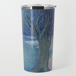 Night Snow Travel Mug