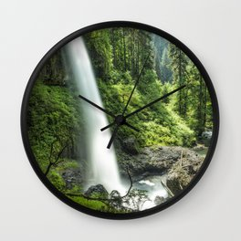 Looking Out From Under North Falls Wall Clock