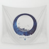 destiny Wall Tapestries featuring Destiny - Milkyway by Fatih
