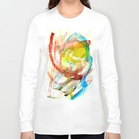 contact Long Sleeve T-shirts featuring contact by Kay Weber