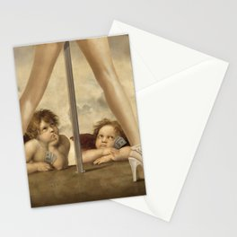 Not so Little Angels Stationery Cards