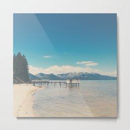 Lake Tahoe photograph Metal Print