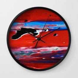 This Moment - Close-up Wall Clock