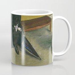 Edgar Degas Waiting Coffee Mug