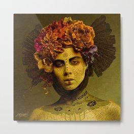Pale Empress Metal Print