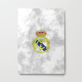 Real Madrid CF sketch Metal Print