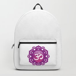 Crown Chakra Symbol Backpack