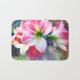 Atmospheric Amaryllis Bath Mat