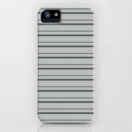 Benjamin Moore 2019 Trending Color Hale Navy Blue Gray HC-154 on Color of the Year 2019 Metropolitan iPhone Case