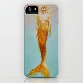 Siren Of The Sea iPhone Case