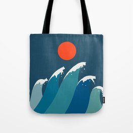 Cat Landscape 15 Tote Bag