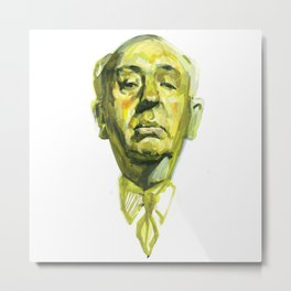 Sir Alfred Joseph Hitchcock Metal Print