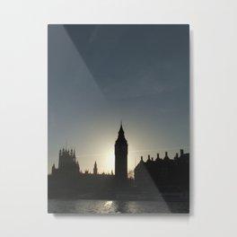 Big Ben Sunset Metal Print
