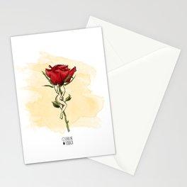 Rose body Stationery Cards