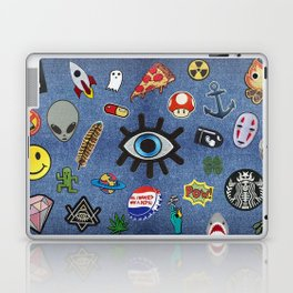 Patch Extravaganza Laptop & iPad Skin