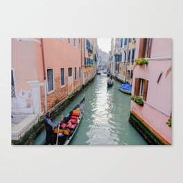 Charming Venice Italy Canals Canvas Print