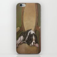downton abbey iPhone & iPod Skins featuring Abbey by Ambre Wallitsch