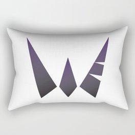 Warrior the Fvck Up Rectangular Pillow