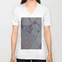 rocky V-neck T-shirts featuring rocky by Amanda Stockwell