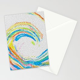 Design 35 mosaic look Stationery Cards