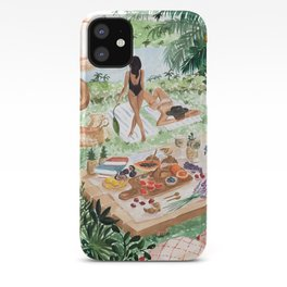 Picnic In the South of France iPhone Case