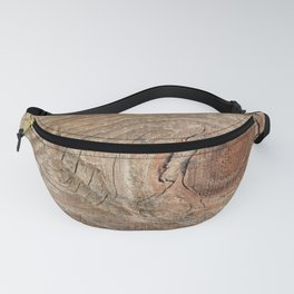 Wood with knot Fanny Pack