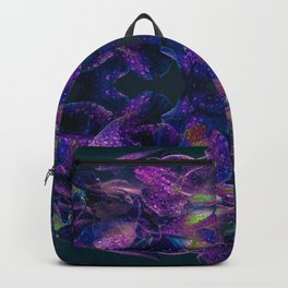 Floral Symmetry Backpack
