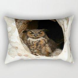 Protective mom Rectangular Pillow