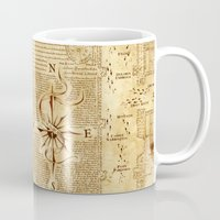 marauders Mugs featuring MARAUDERS MAP by Graphic Craft