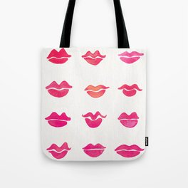 Kiss Collection – Pink Palette Tote Bag