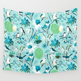 Finally Easter! [blue'n rose] Wall Tapestry
