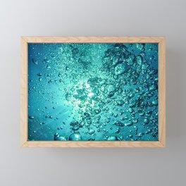 Thirsty Sprite Bubble Framed Mini Art Print