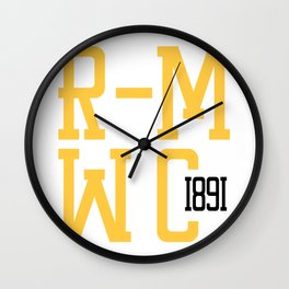 R-MWC (white) Wall Clock
