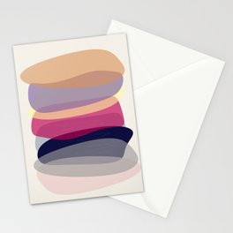Modern minimal forms 4 Stationery Cards