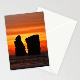 Islets at sunset Stationery Cards