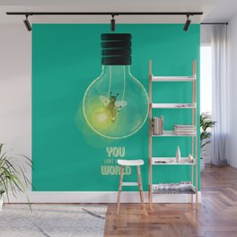 You Light Up My World Wall Mural